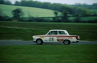 The Lotus Cortina classic car is highly sought after