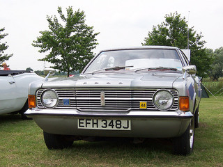 The Ford Cortina was one of the most popular cars.