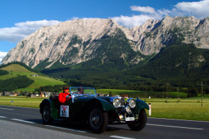 driving an open top classic sports car can be a wonderful experience in the winter period