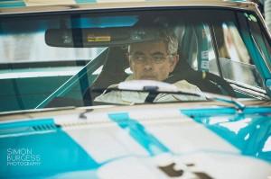 Rowan Atkinson is a classic car enthusiast