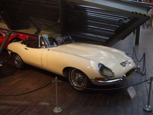The Jaguar E-Type turned heads