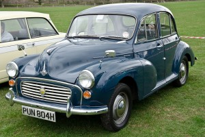 A Morris Minor went under the hammer at auction for £17,000.