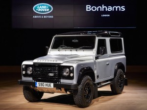 It will be interesting to see how much this Land Rover Defender is worth when it becomes a classic vehicle in the years to come