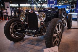 The Bugatti Type 51 is a delightdul looking classic car