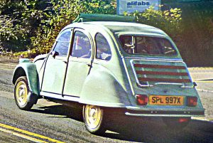 The Citroen 2CV is a classic vehicle