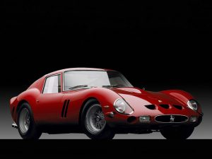 The Ferrari 250GTO is an extremely valuable classic car