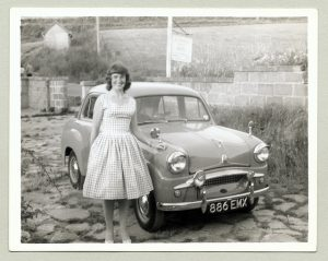 The number of ladies buying a classic car has gone up considerably in the last couple of years.