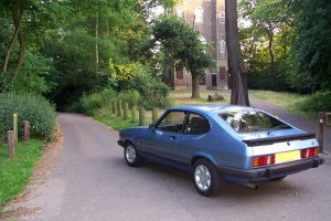 The 1985 Ford Capri 2.0 Laser is a classic car