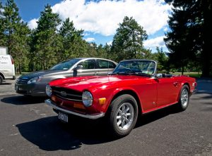 The Triumph TR6 is a delightful classic sports car